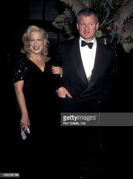 Singer Bette Midler and husband Martin von Haselberg attend the Manhattan Fantastica Themed Dinner Dance Gala on October 23 1995 at the Whitney...