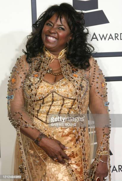 Singer Betty Wright arrives at the 50th Grammy Awards in Los Angeles on February 10 2008 AFP PHOTO/Gabriel BOUYS