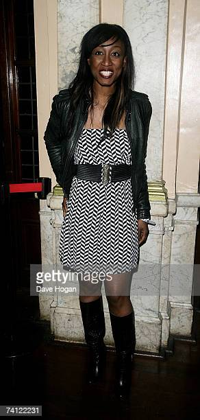 Singer Beverley Knight arrives at a private gig to be perfomed by Prince at Koko on May 10 2007 in London England The pop superstar is due to play...