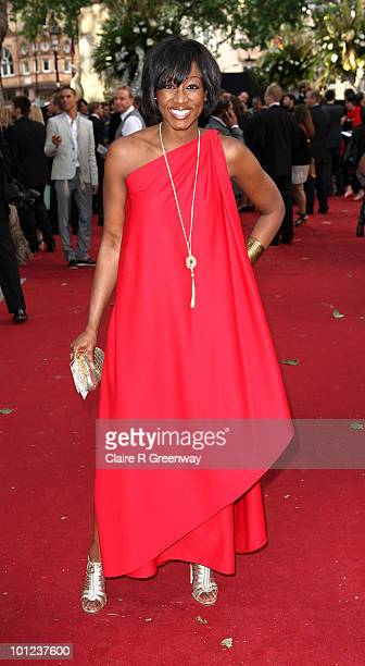 Singer Beverley Knight arrives at the UK premiere of Sex And The City 2 at Odeon Leicester Square on May 27, 2010 in London, England.