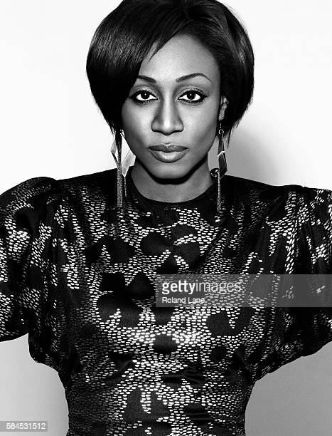 Singer Beverley Knight is photographed on April 5 2011 in London England