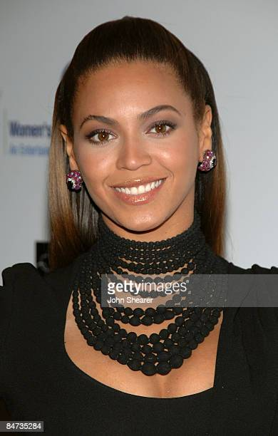 Singer Beyonce arrives at the Unforgettable Evening Benefiting The Entertainment Industry Foundation held at the Beverly Wilshire Hotel on February...
