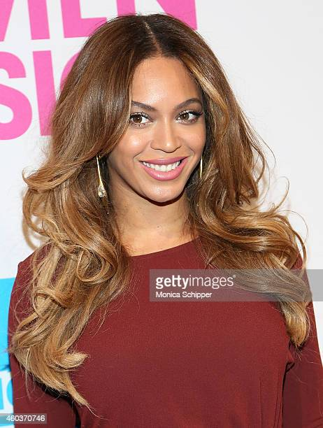 Singer Beyonce attends the 2014 Billboard Women In Music Luncheon at Cipriani Wall Street on December 12 2014 in New York City