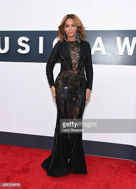 Singer Beyonce attends the 2014 MTV Video Music Awards at The Forum on August 24 2014 in Inglewood California