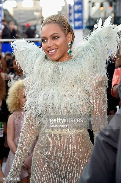 Singer Beyonce attends the 2016 MTV Video Music Awards at Madison Square Garden on August 28 2016 in New York City