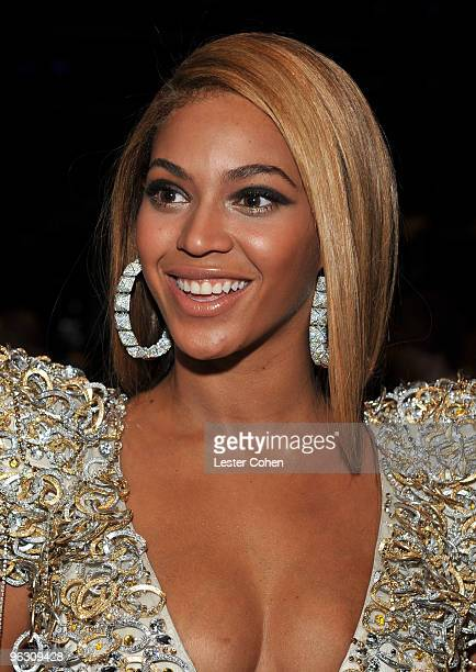 Singer Beyonce attends the 52nd Annual GRAMMY Awards held at Staples Center on January 31 2010 in Los Angeles California