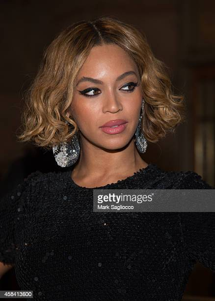 Singer Beyonce attends the Topshop Topman New York City Flagship Opening Dinner Grand Central Terminal on November 4, 2014 in New York City.
