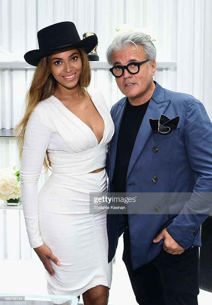 Giuseppe Zanotti Beverly Hills Store Opening : News Photo