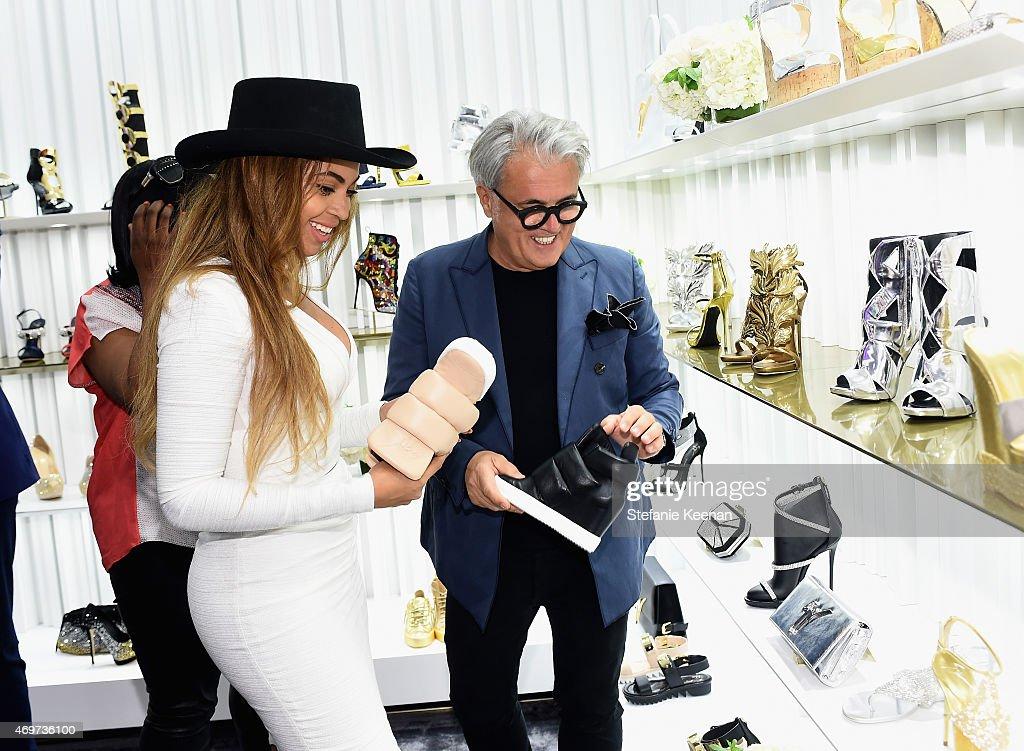 Giuseppe Zanotti Beverly Hills Store Opening : ニュース写真