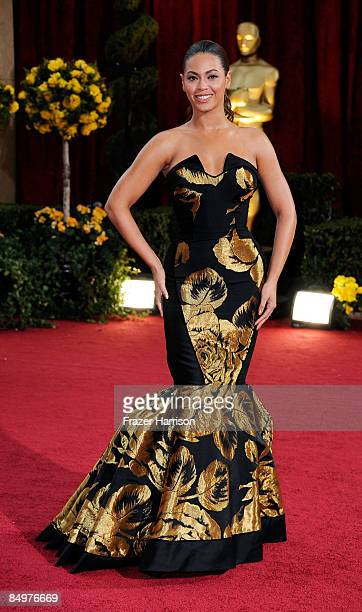 Singer Beyonce Knowles arrives at the 81st Annual Academy Awards held at Kodak Theatre on February 22 2009 in Los Angeles California