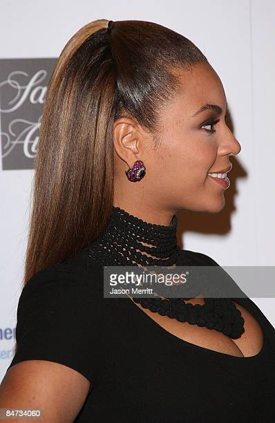 Singer Beyonce Knowles arrives at the Unforgettable Evening Benefiting The Entertainment Industry Foundation held at the Beverly Wilshire Hotel on...