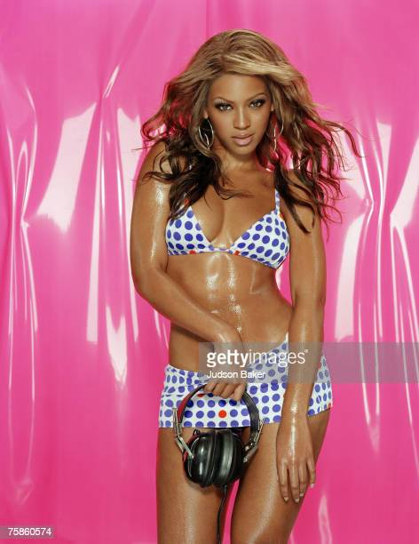 Singer Beyonce Knowles is photographed for Blender Magazine in 2003 in New York City