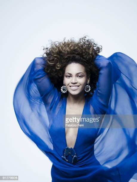 Singer Beyonce Knowles is photographed for Ebony Magazine