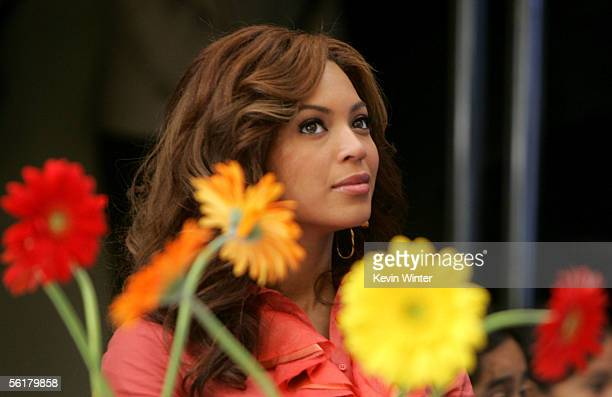 Singer Beyonce Knowles listens in the audience at the 2005 World Children's Day at the McDonalds Los Angeles Ronald McDonald House on November 15...