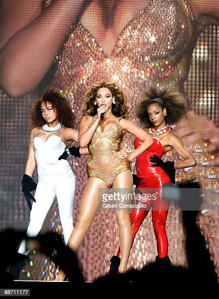 Singer Beyonce performs at the Wachovia Center on June 26, 2009 in Philadelphia, Pennsylvania.