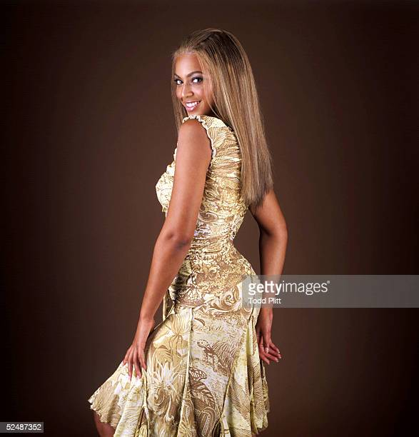 Singer Beyonce poses for a portrait on August 23 2003 in New York City