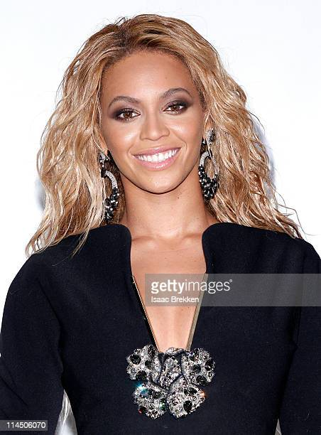 Singer Beyonce poses in the press room during the 2011 Billboard Music Awards at the MGM Grand Garden Arena May 22 2011 in Las Vegas Nevada