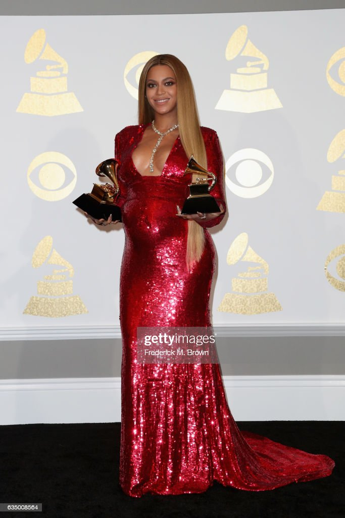 The 59th GRAMMY Awards - Press Room : News Photo