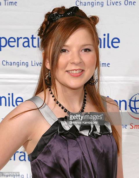 Singer Bianca Ryan walks the red carpet during the 2009 Smile Event presented by Operation Smile at Cipriani Wall Street on May 7, 2009 in New York...