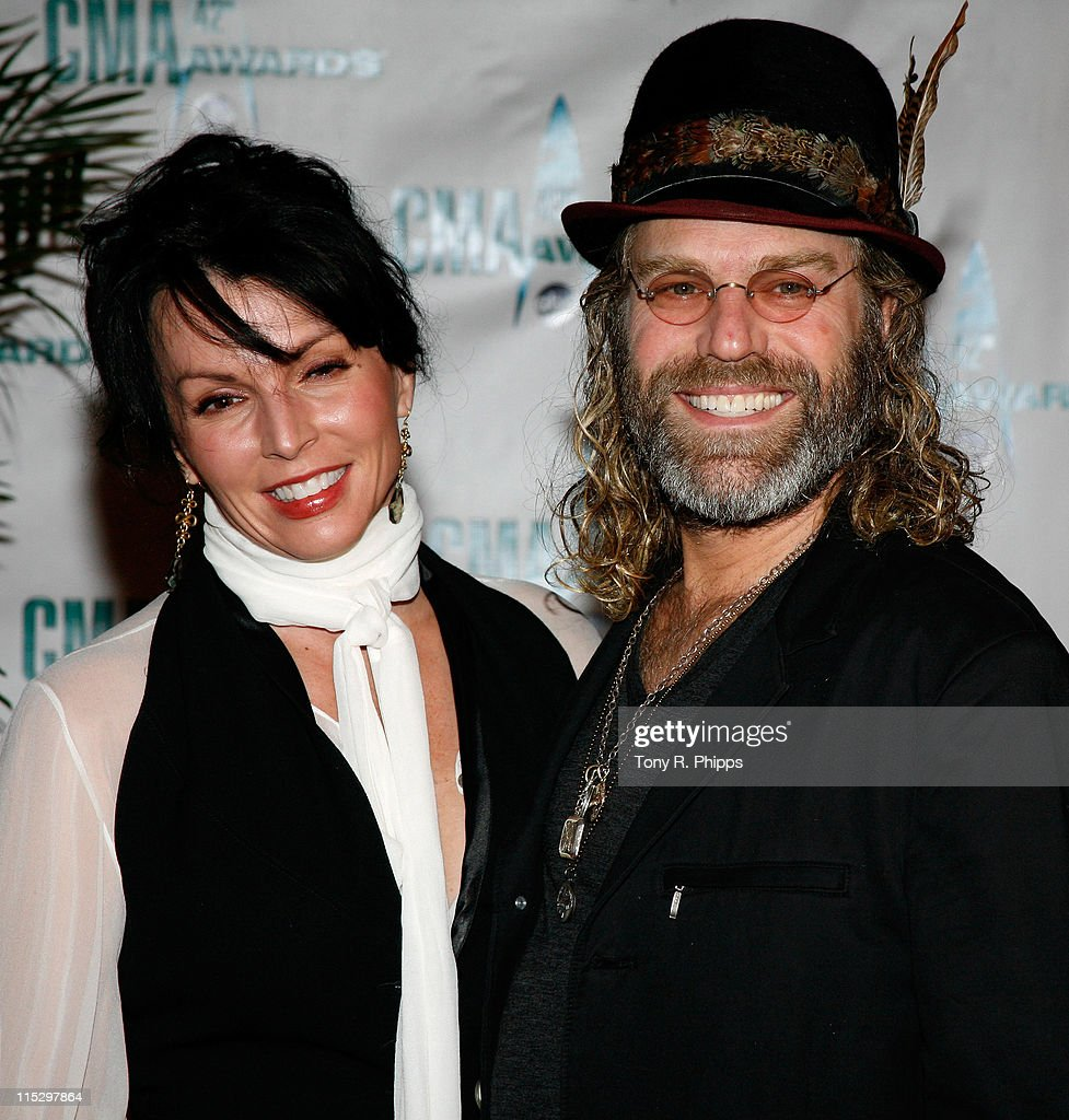 Singer Big Kenny and his wife Christiev Alphin attend the 42nd Annual CMA Awards at the Sommet Center on November 12, 2008 in Nashville, Tennessee.