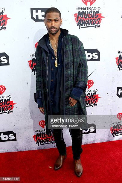 Singer Big Sean attends the iHeartRadio Music Awards at The Forum on April 3 2016 in Inglewood California
