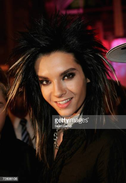 Singer Bill Kaulitz of the band Tokio Hotel attends the Herz fuer Kinder charity gala at Axel Springer Haus December 16 2006 in Berlin Germany