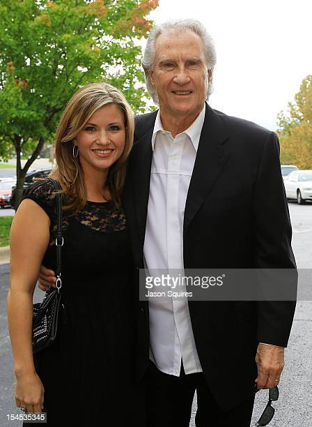 Singer Bill Medley and daughter McKenna attend a memorial service for entertainer Andy Williams on October 21 2012 in Branson Missouri Williams died...