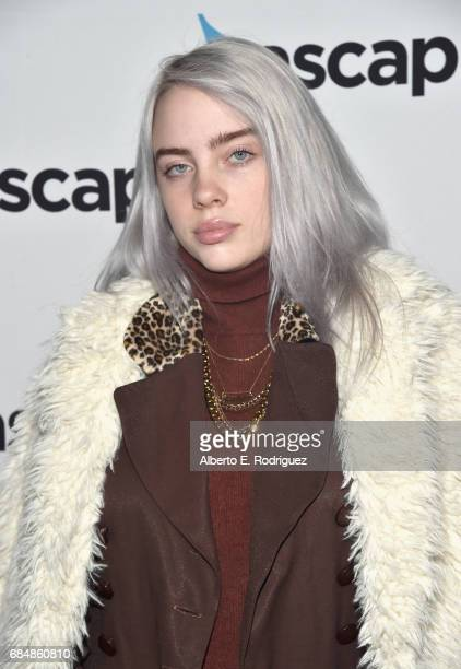 Singer Billie Eilish at the 2017 ASCAP Pop Awards at The Wiltern on May 18 2017 in Los Angeles California