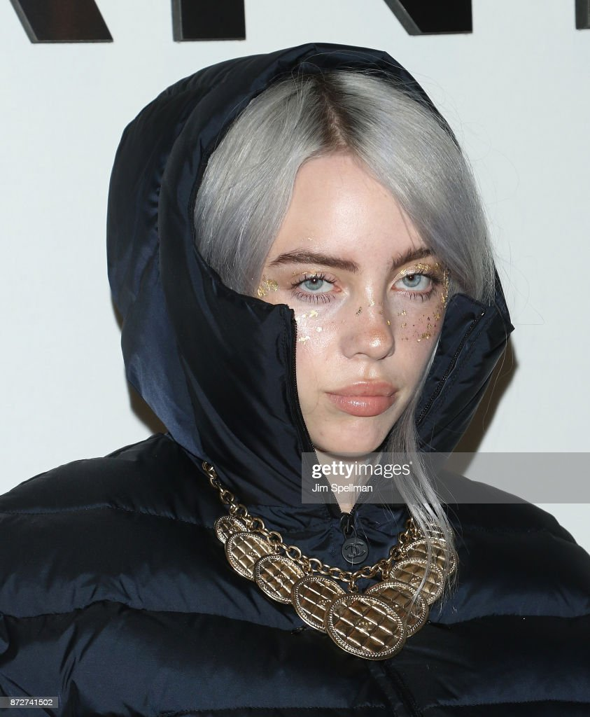 Singer Billie Eilish attends the launch of The Coco Club celebrated by CHANEL at The Wing Soho on November 10, 2017 in New York City.
