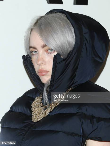 Singer Billie Eilish attends the launch of The Coco Club celebrated by CHANEL at The Wing Soho on November 10 2017 in New York City