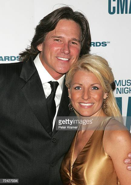 Singer Billy Dean and his wife Stephanie Paisley attend the 40th Annual CMA Awards at the Gaylord Entertainment Center November 6 2006 in Nashville...