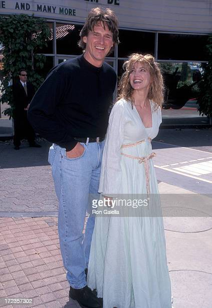 Singer Billy Dean and singer/actress Crystal Bernard attend the 34th Annual Academy of Country Music Awards Artists Reception on May 4, 1999 at...