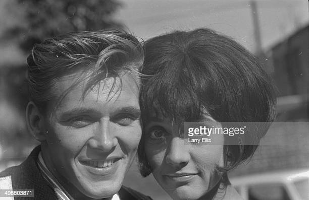 Singer Billy Fury and actress Amanda Barrie on the set of 'I've Gotta Horse' September 29th 1964