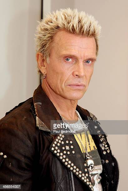 Singer Billy Idol attends Subliminal Projects presents SID Superman Is Dead a collaborative exhibition by Dennis Morris and Shepard Fairey on...