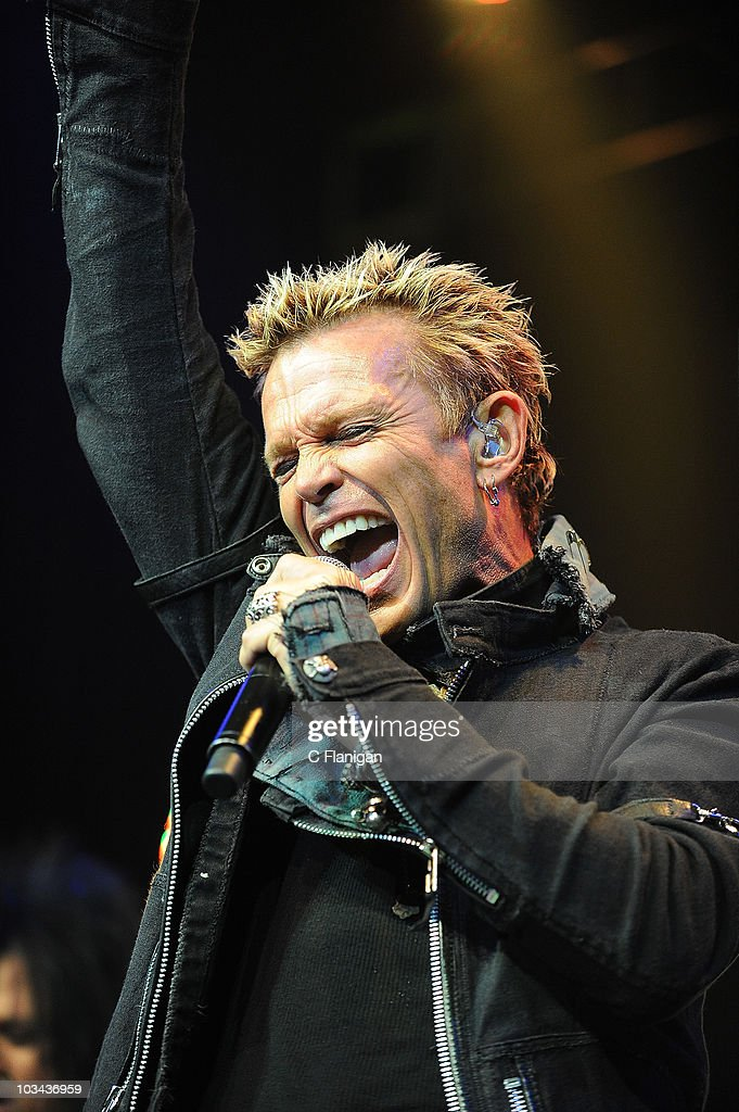 Singer Billy Idol Performs At The Fillmore Theatre On August 17