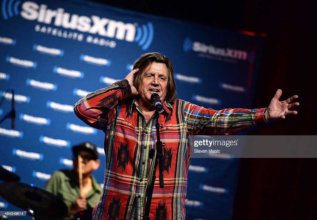 Singer Billy J. Kramer performs at the 'Cousin Brucie Presents: The British Invasion' at Hard Rock Cafe New York on February 24, 2015 in New York City.
