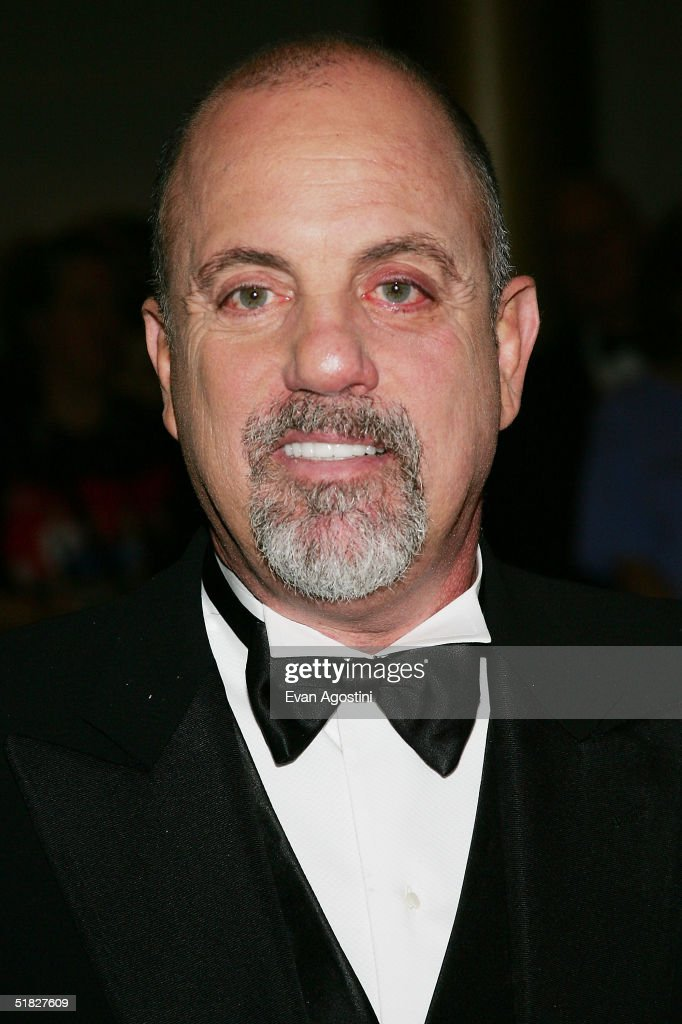 Singer Billy Joel arrives at the 27th Annual Kennedy Center Honors Gala at The Kennedy Center for the Performing Arts, December 5, 2004 in Washington, D.C.