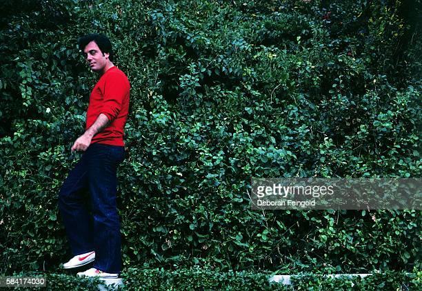 Singer Billy Joel poses for a portrait in September 1982 on Long Island New York