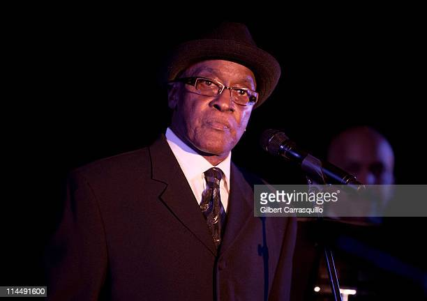 Singer Billy Paul performs during the Chamber Orchestra of Philadelphia 2011 Lifetime Achievement award gala at The Westin Philadelphia on May 21,...