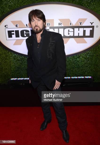 Singer Billy Ray Cyrus attends Muhammad Ali's Celebrity Fight Night XIX at JW Marriott Desert Ridge Resort & Spa on March 23, 2013 in Phoenix,...