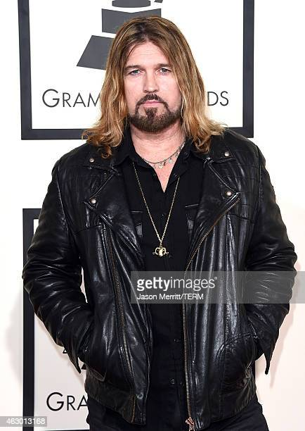 Singer Billy Ray Cyrus attends The 57th Annual GRAMMY Awards at the STAPLES Center on February 8 2015 in Los Angeles California