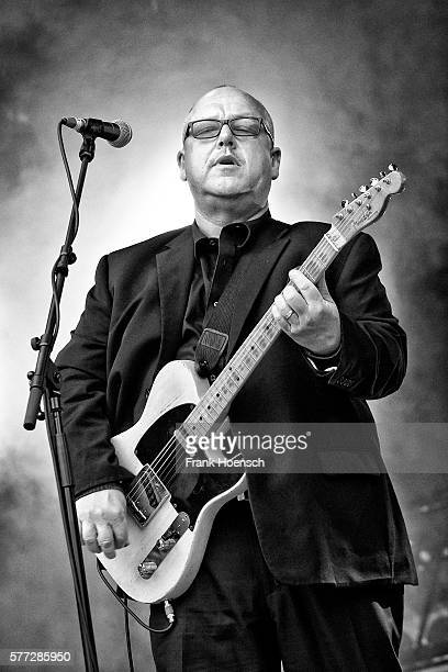 Singer Black Francis of the American band Pixies performs live during a concert at the Zitadelle Spandau on July 18 2016 in Berlin Germany