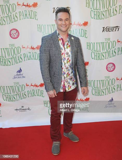 Singer Blake Lewis attends 87th Annual Hollywood Christmas Parade on November 25, 2018 in Hollywood, California.