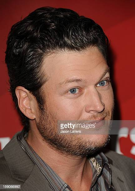 Singer Blake Shelton attends the 2013 NBC TCA Winter Press Tour at The Langham Huntington Hotel and Spa on January 6 2013 in Pasadena California