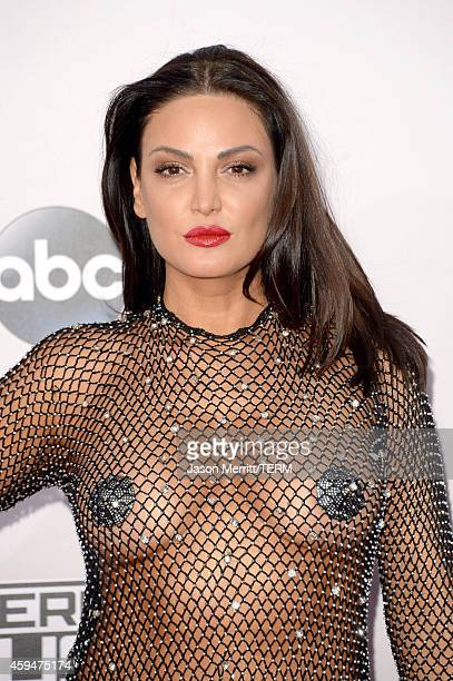 Singer Bleona Qereti attends the 2014 American Music Awards at Nokia Theatre LA Live on November 23 2014 in Los Angeles California