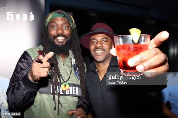 Singer Blessed and Rapper Maestro Fresh Wes aattend the Maestro Fresh Wes Champagne Campaign Album Listening Party at the Broadview Hotel on March 1,...