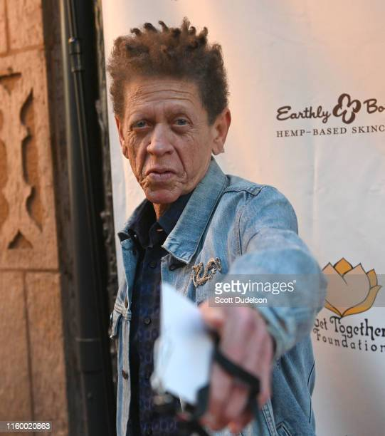 Singer Blondie Chaplin attends the California Saga 2 Benefit Concert at Ace Hotel on July 03, 2019 in Los Angeles, California.