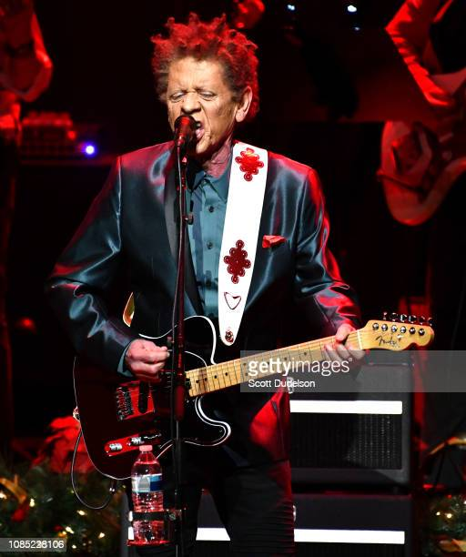 Singer Blondie Chaplin, former member of The Beach Boys, performs onstage at The Fonda Theatre on December 20, 2018 in Los Angeles, California.