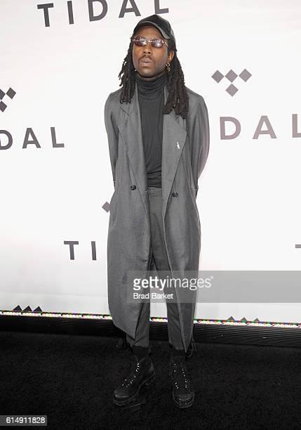 Singer Blood Orange attends TIDAL X 1015 on October 15 2016 in New York City