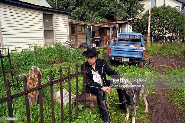 Singer Bob Dylan is photographed in August 2001 in Telluride Colorado CREDIT MUST READ Ken Regan/Camera 5 via Contour by Getty Images